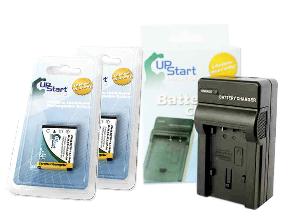 UpStart Battery 2x Pack - Kodak EasyShare Mini Digital Camera Battery + Charger - Replacement Kit for Kodak KLIC-7006 at Sears.com