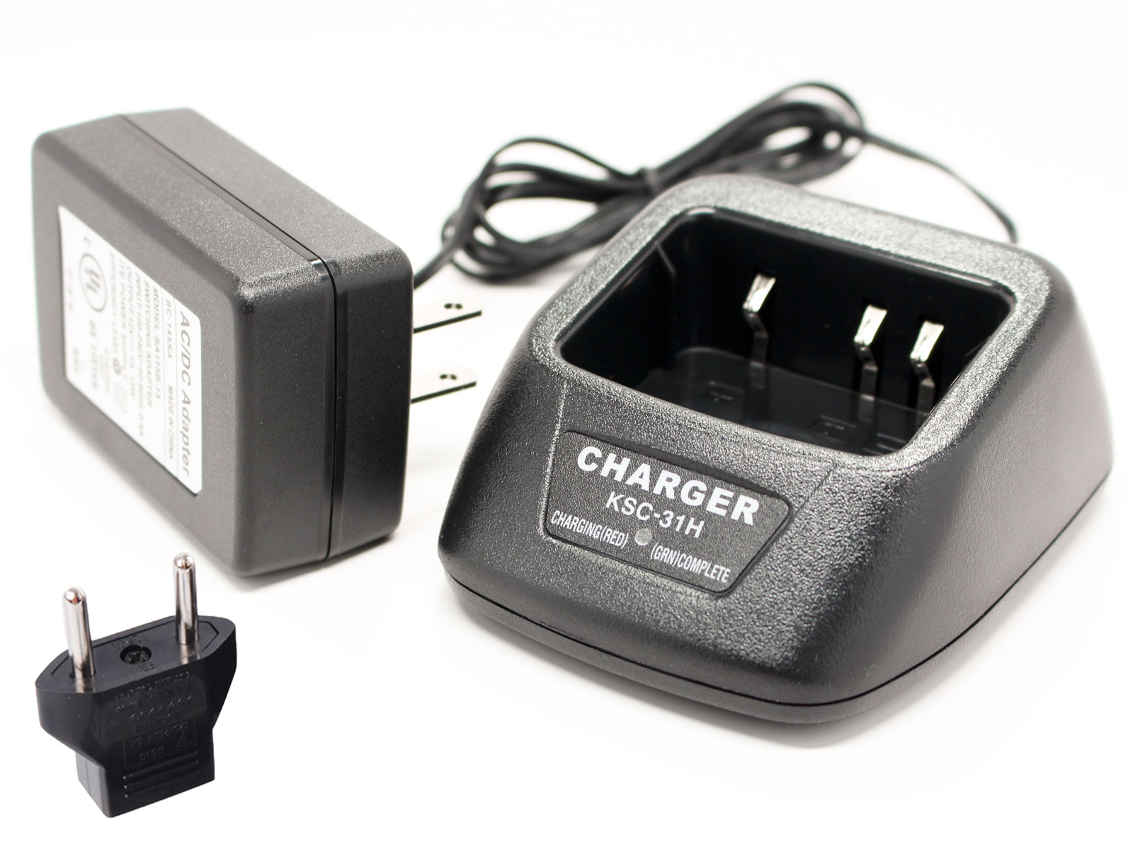 UpStart Battery Kenwood KNB-29N Charger with EU Adapter - Replacement for Kenwood KNB-29N Two-Way Radio Chargers (100-240V) at Sears.com