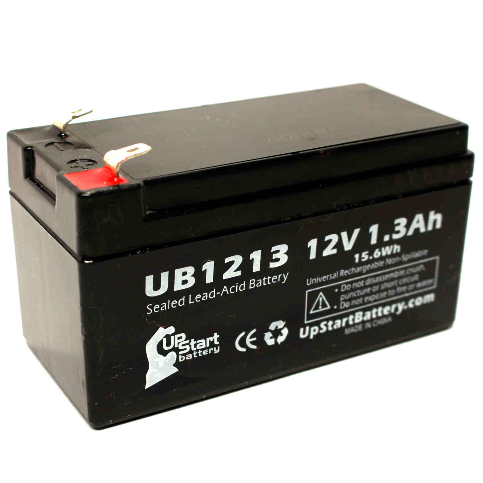 werker wka12 1 3f battery ub1213 12v 1 3ah sealed lead acid sla agm ebay. Black Bedroom Furniture Sets. Home Design Ideas