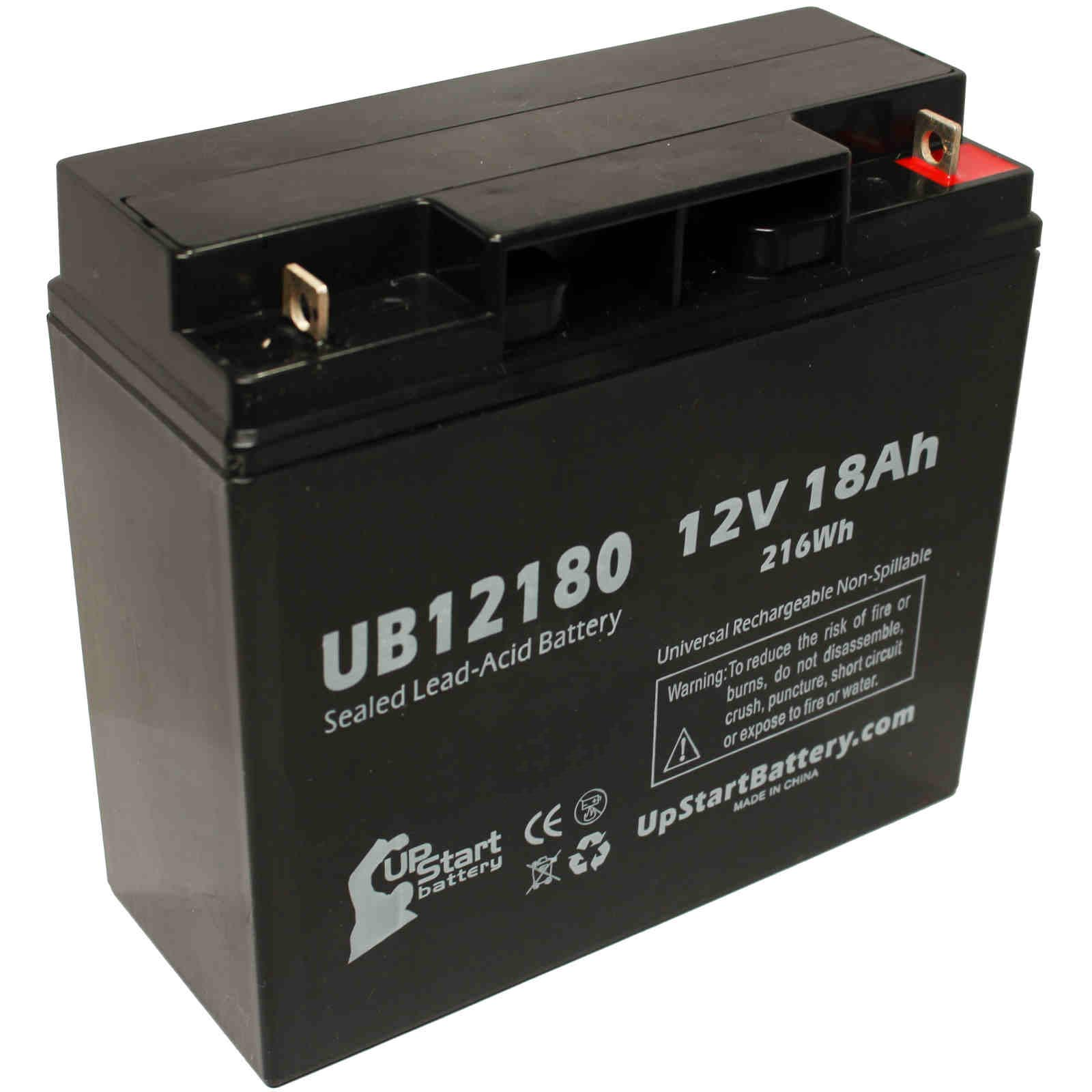 UpStart Battery SEARS CRAFTSMAN DIEHARD PORTABLE POWER 1150 Battery - Replacement UB12180 Universal SLA Battery (12V, 18Ah, T4 Terminal) at Sears.com