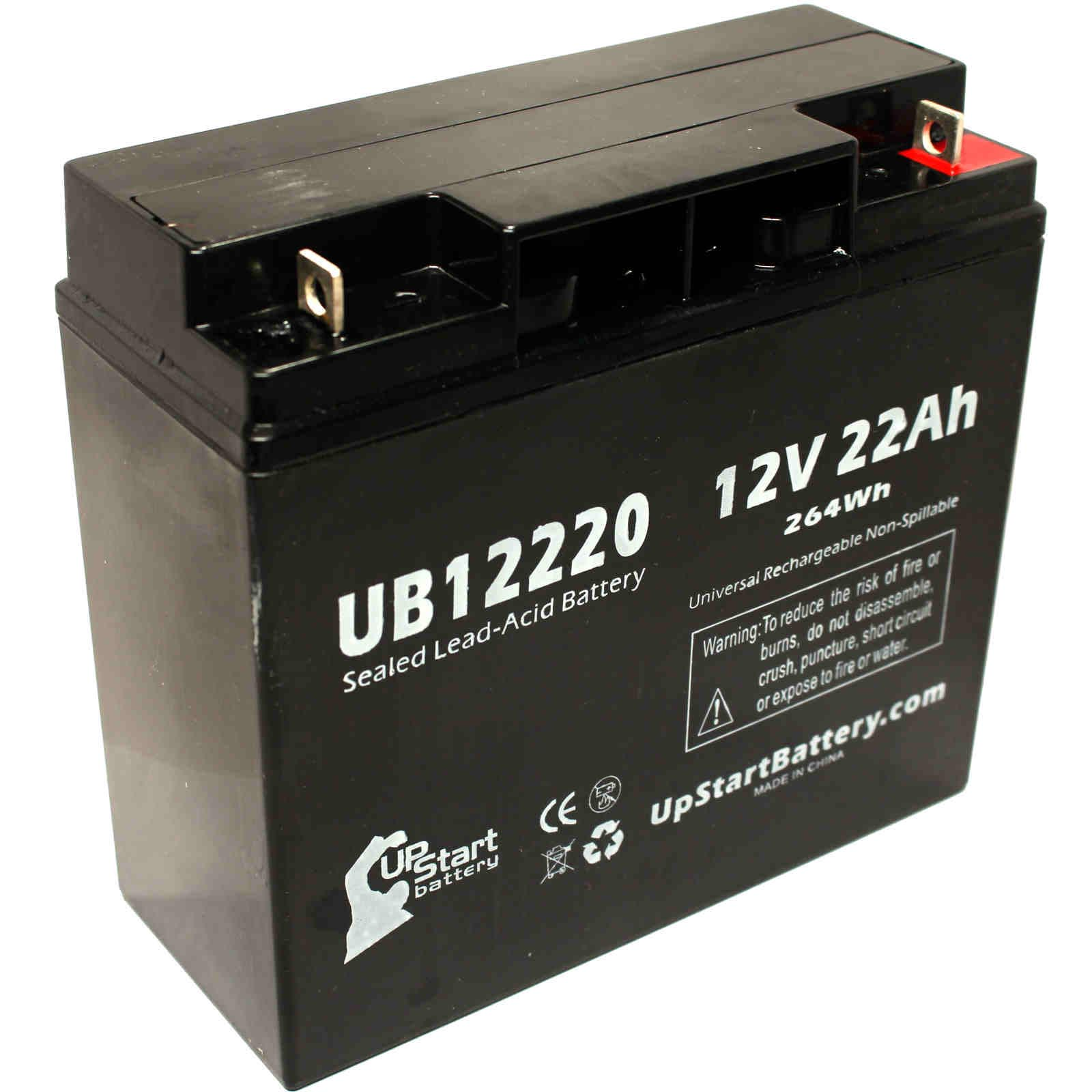 UpStart Battery ACCESS BATTERY SLA12180 Battery - Replacement UB12220 Universal Sealed Lead Acid Battery (12V, 22Ah, 22000mAh, T4 Terminal,) at Sears.com