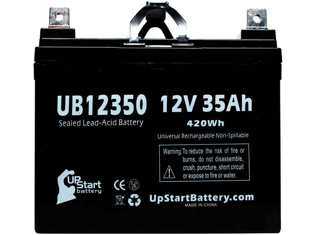 UpStart Battery Leisure Lift / Pace Saver / Burke Mobility Scout M Series PBR - Replaces UB12350 SLA (12V, 35Ah, Internal Thread Terminal) at Sears.com