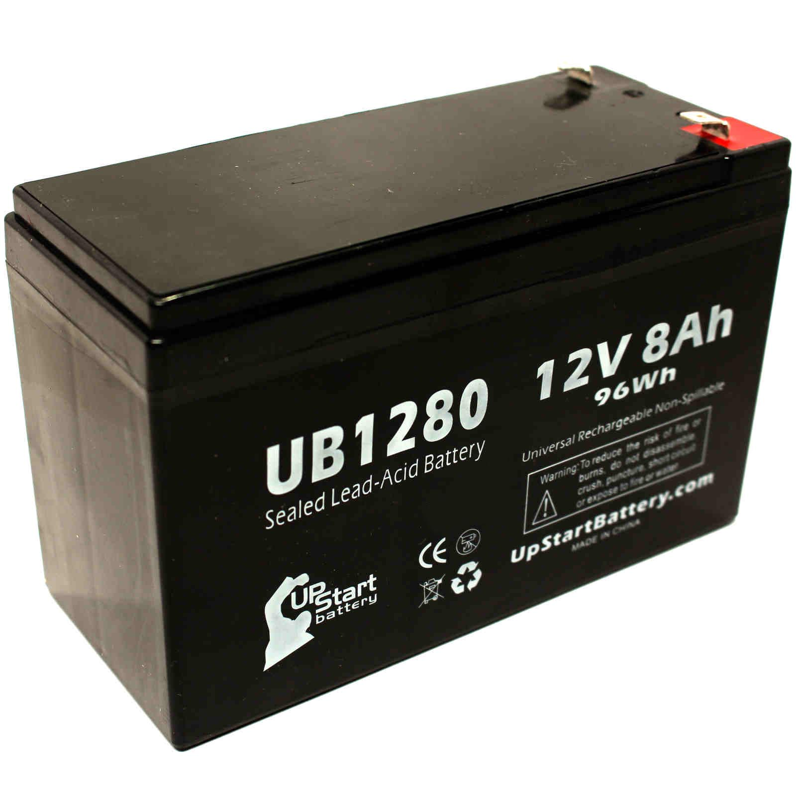UpStart Battery Invivo Research Inc 1000 OMEGA BLOOD PRESSURE MONITOR Battery - Replacement UB1280 Universal SLA Battery (12V, 8Ah, 8000mAh) at Sears.com