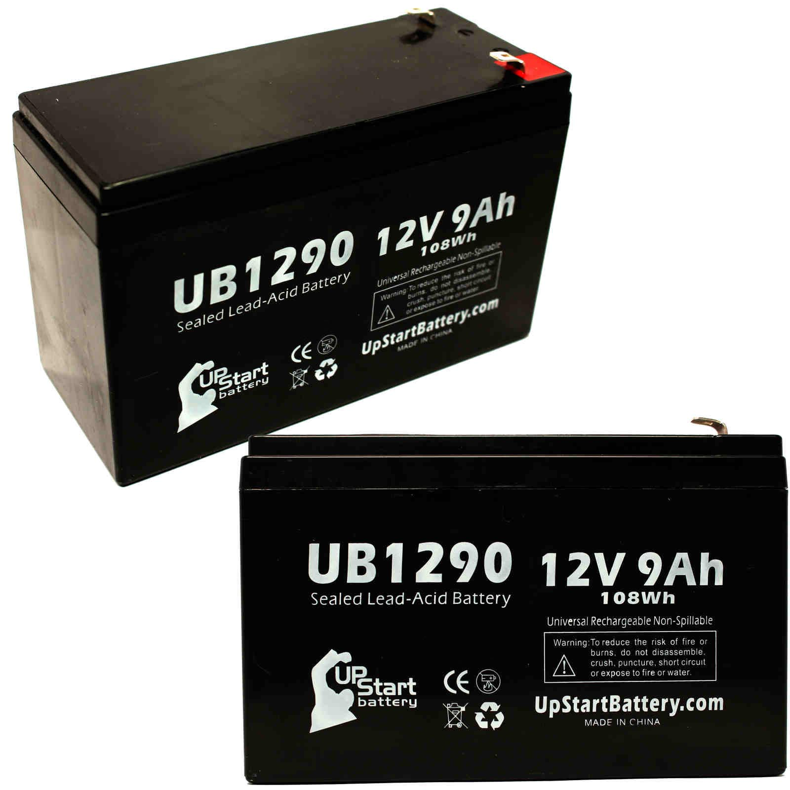 2 pack apc smart ups 750 battery ub1290 12v 9ah sealed lead acid 2 pack ub1280 12v 8ah sealed lead acid battery
