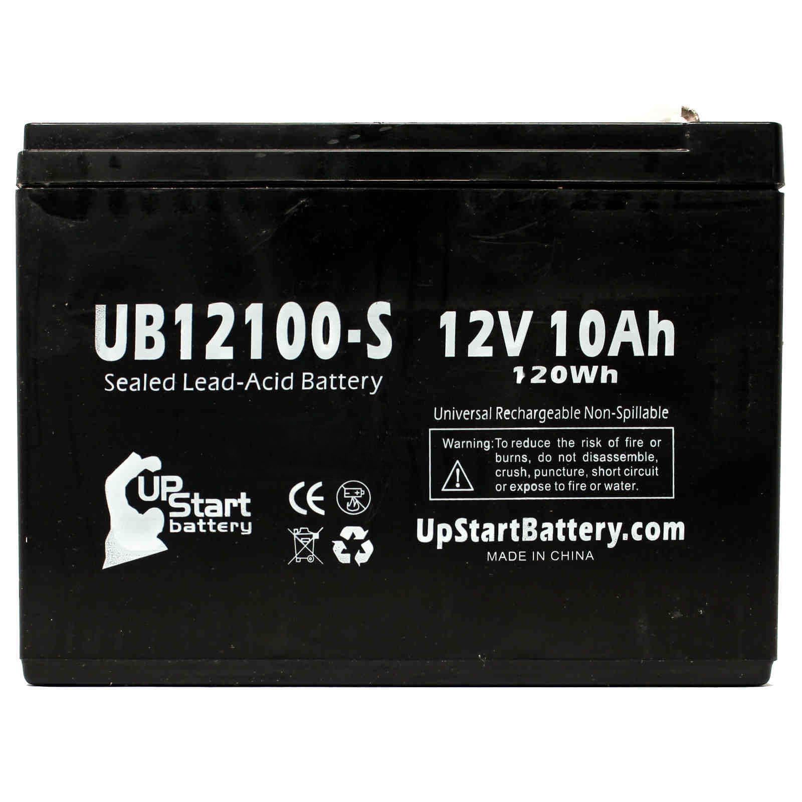 2 Pack Mongoose M350 Battery Ub12100 S 12v 10ah Sealed Lead Acid Sla Wiring Diagram
