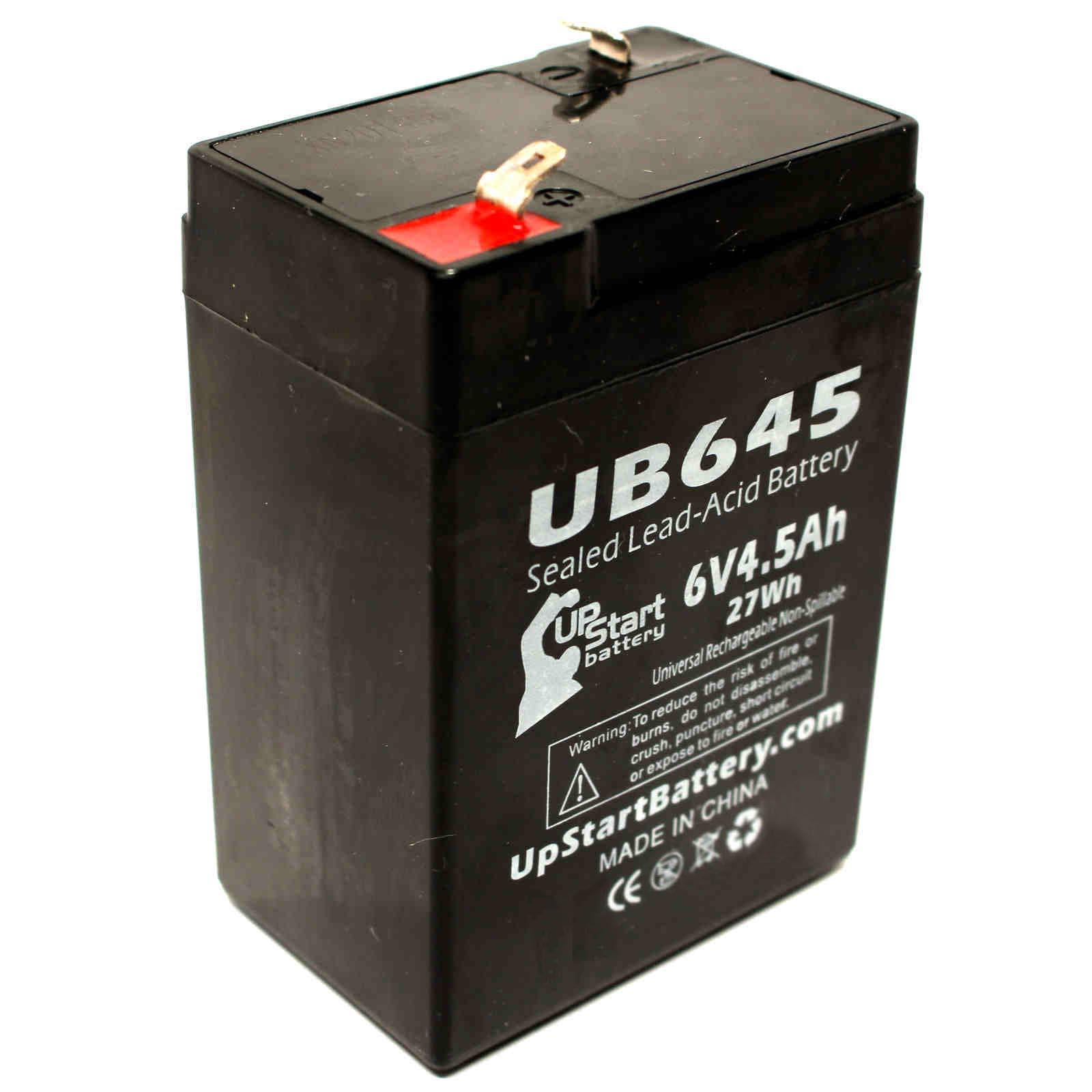 Lithonia Elb06042 6elm2 Battery Ub645 6v 4 5ah Sealed Lead